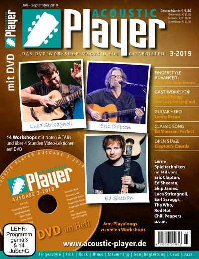 ACOUSTIC PLAYER, Ausgabe 3-2019